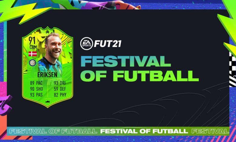 FIFA 21: Goles Christian Eriksen Path To Glory - Festival Of FUTball