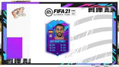 FIFA 21: Javier Martinez SBC El fin de una era: descubre los requisitos y las soluciones
