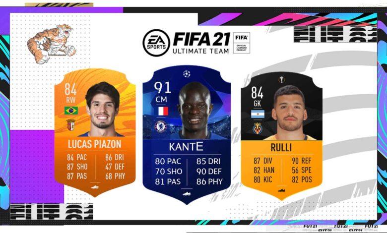 FIFA 21: MOTM: las nuevas cartas de Hombre del partido del 5 de junio están disponibles