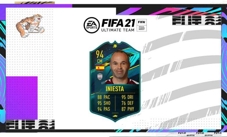 FIFA 21: SBC Andres Iniesta Moments - Descubre los requisitos y las soluciones