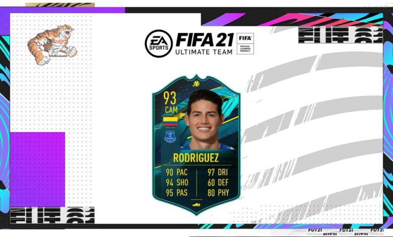 FIFA 21: SBC James Rodriguez Moments - Descubre los requisitos y las soluciones