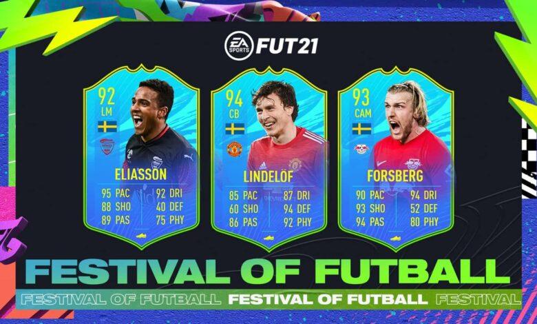 FIFA 21: SBC Lindelof, Forsberg y Eliasson Jugador Nacional Sueco - Festival Of FUTball