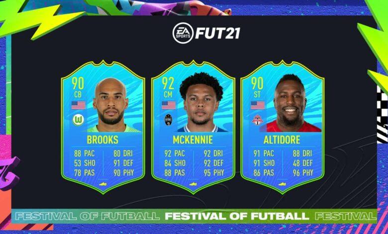 FIFA 21: SBC McKennie, Altidore y Brooks Jugador Nacional de los Estados Unidos - Festival Of FUTball
