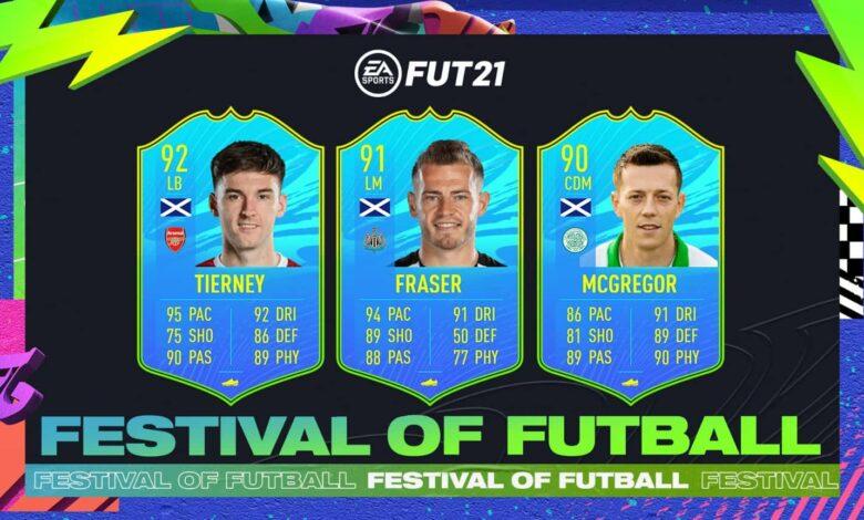 FIFA 21: SBC Tierney, Fraser y McGregor National Players Escocia - Festival Of FUTball