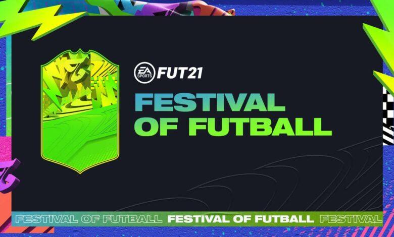 FIFA 21: Se anuncia el equipo del evento Festival Of FUTball