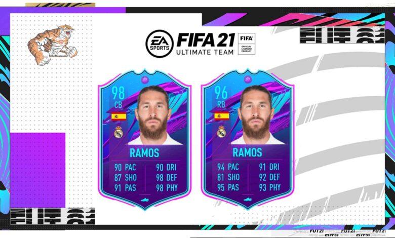 FIFA 21: Sergio Ramos SBC El fin de una era: descubre los requisitos y las soluciones