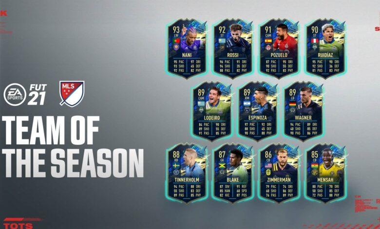 FIFA 21: TOTS MLS - Se anuncia el equipo de la temporada