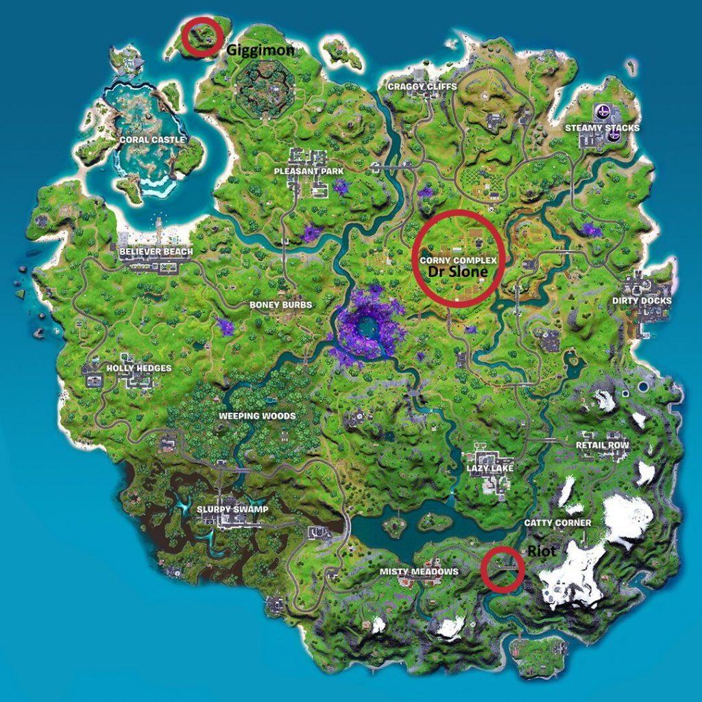 """fortnite-map-s7-ch2-mythic-01 """"class ="""" wp-image-685551 """"srcset ="""" https://images.mein-mmo.de/medien/2021/06/fortnite-map-s7-ch2- mythic-01-1024x1024.jpg 1024w, https://images.mein-mmo.de/medien/2021/06/fortnite-map-s7-ch2-mythic-01-300x300.jpg 300w, https: // imágenes. mein-mmo.de/medien/2021/06/fortnite-map-s7-ch2-mythic-01-150x150.jpg 150w, https://images.mein-mmo.de/medien/2021/06/fortnite-map -s7-ch2-mythic-01-768x768.jpg 768w, https://images.mein-mmo.de/medien/2021/06/fortnite-map-s7-ch2-mythic-01-231x231.jpg 231w, https : //images.mein-mmo.de/medien/2021/06/fortnite-map-s7-ch2-mythic-01.jpg 1080w """"tamaños ="""" (ancho máximo: 1024px) 100vw, 1024px """">     <p><strong>¿Dónde puedo encontrar a Giggimon? </strong>Giggimon, el conejo, se escondió en la pequeña isla del noroeste junto al faro. ¡Si lo matas, obtendrás un rifle de asalto épico!</p> <p>Si está buscando artefactos alienígenas en lugar de nuevas armas y jefes, seguramente los encontrará en nuestra guía. Lea en nuestro artículo sobre los artefactos alienígenas, donde están todas las ubicaciones en el mapa del Capítulo 2 de la Temporada 7 de Fortnite. ¡Diviértete buscando!</p>   </div><!-- .entry-content /-->  <div id="""