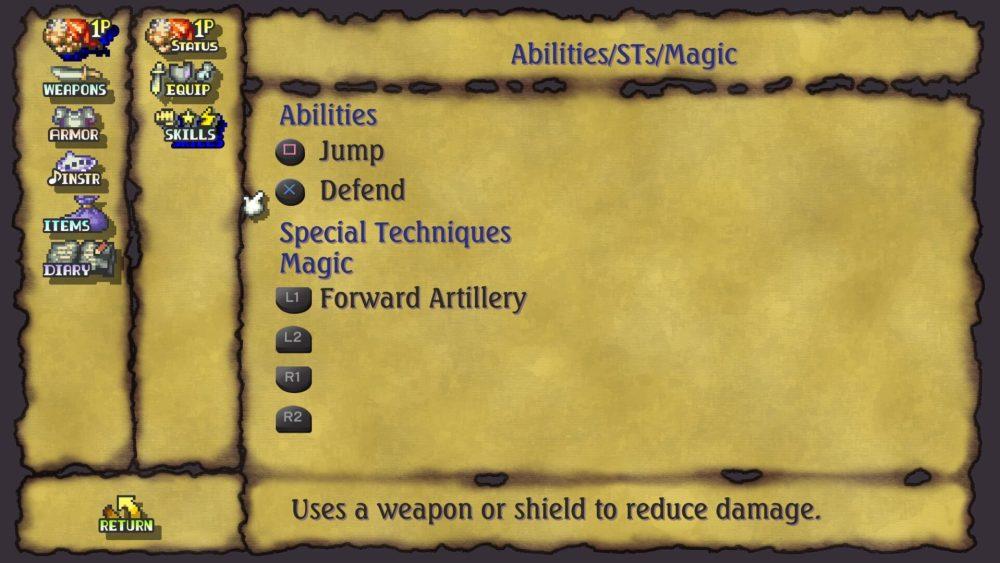 Legend of Mana Cómo aprender habilidades y técnicas especiales