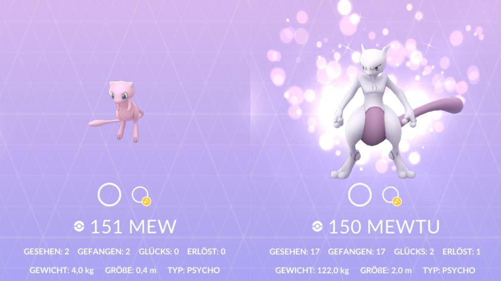 Pokémon GO - Pokémon de la suerte Pokedex