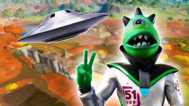 Los extraterrestres dejan sus primeros rastros en Fortnite, ¿finalmente vendrán?