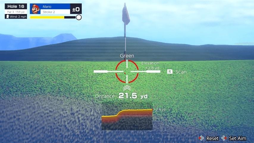Mario Golf Super Rush Scan Terrain