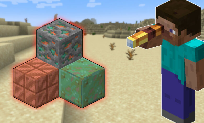 Minecraft: cultiva y usa cobre: así es como funciona