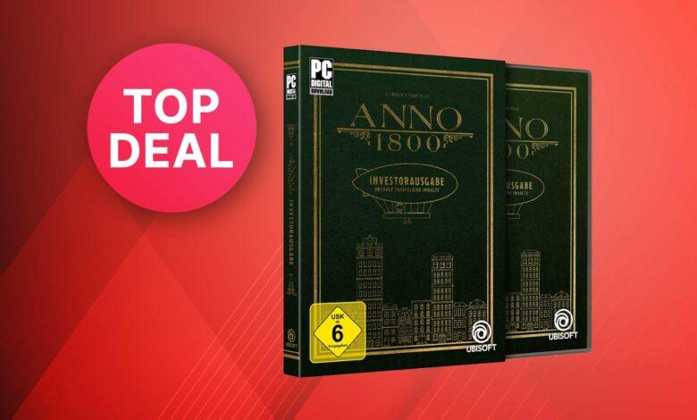 Oferta de Amazon: la emisión del inversor Anno 1800 es más barata que nunca