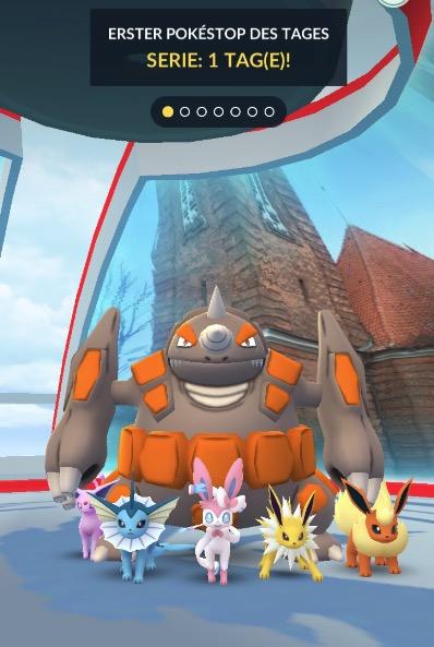 Pokémon GO Arena Eevee