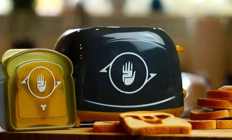 Para los fanáticos de Destiny que ya lo tienen todo, pronto estará disponible la tostadora oficial