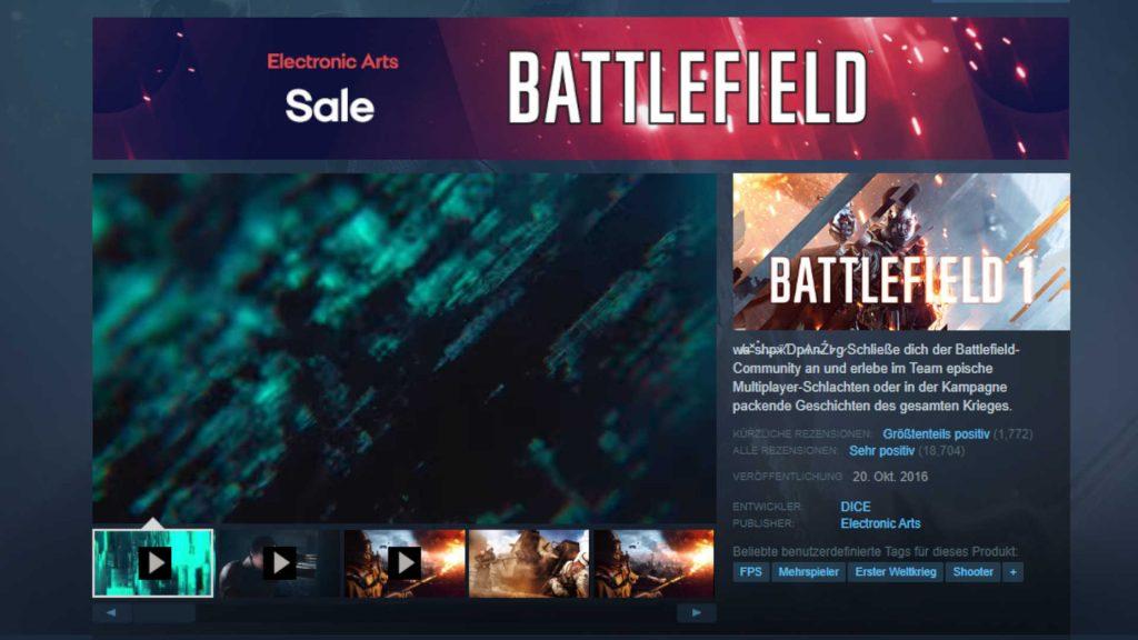 Battlefield 6 muestra un teaser en Steam