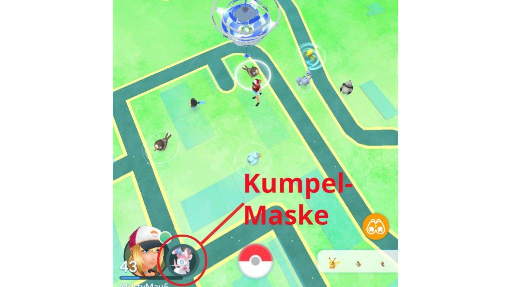 Pokémon GO: amigo de captura de pantalla