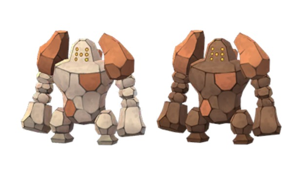Pokemon GO Shiny Regirock