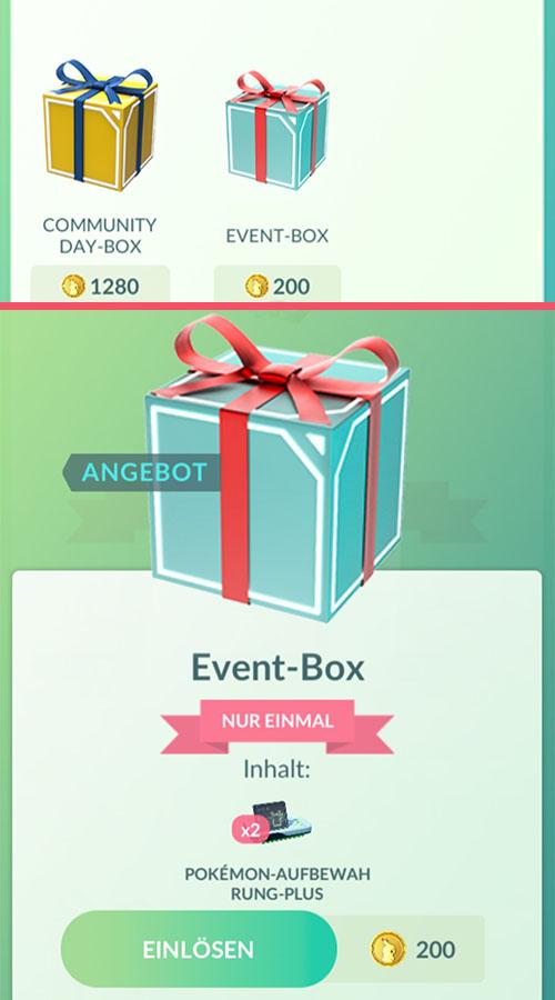 Tienda Pokémon GO Storage Plus