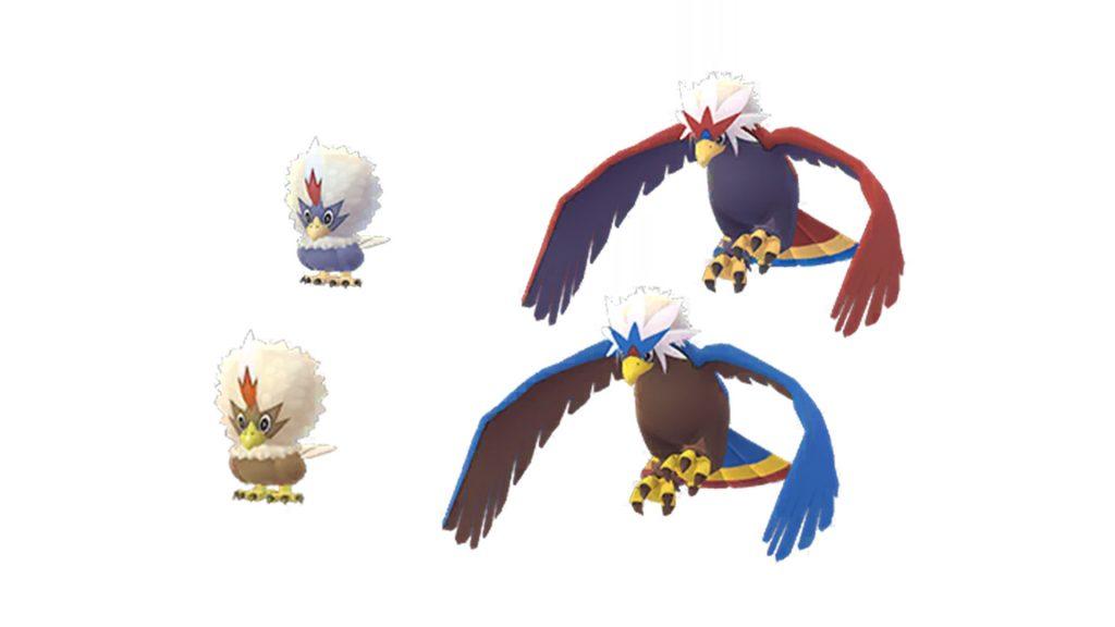 Pokémon GO - Geronimatz Shiny