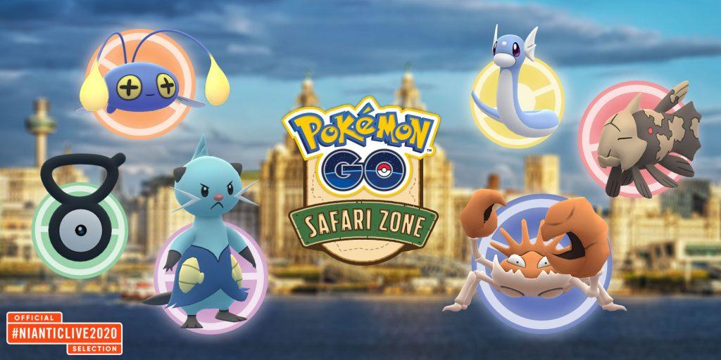 Pokémon GO - Pokémon Safari Zone 2020