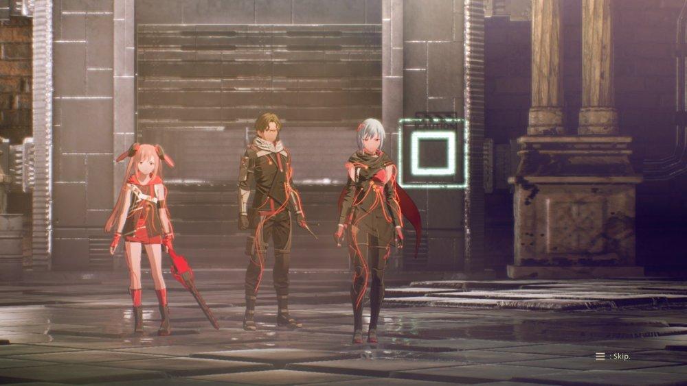 Equipo del cuarto jefe de Scarlet Nexus Kasane