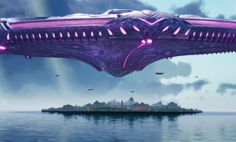 Temporada 7 de Fortnite: el tráiler muestra la invasión, un gran OVNI y la destrucción del punto cero