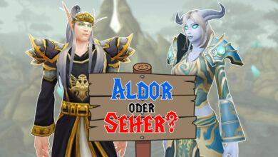 WoW BC Classic: Aldor o Seher - ¿Qué facción es mejor para mí?
