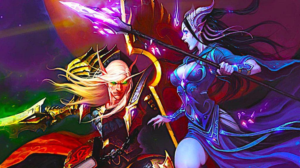 WoW BC Classic Portal Draenei Blood Elf Título 2