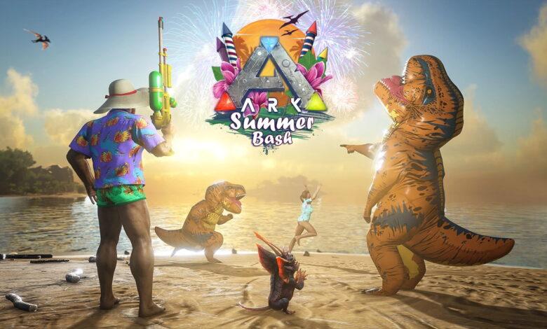 Todo sobre el evento Summer Bash 2021 en ARK Survival Evolved - Skins, Emotes, Chibis