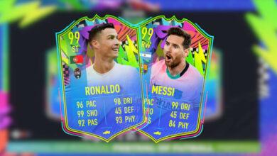 FIFA 21: Summer Stars Event trae cartas extremadamente fuertes, con Ronaldo y Messi