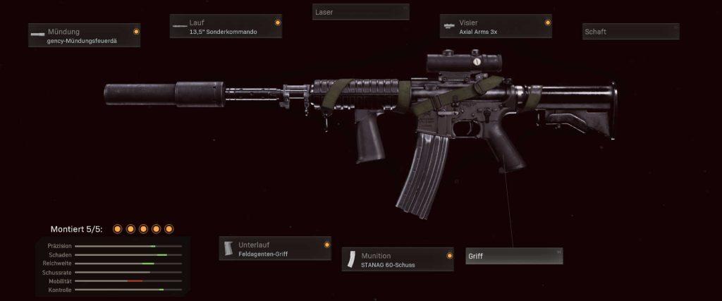 cod warzone armas más populares 21 de junio - configuración de xm4