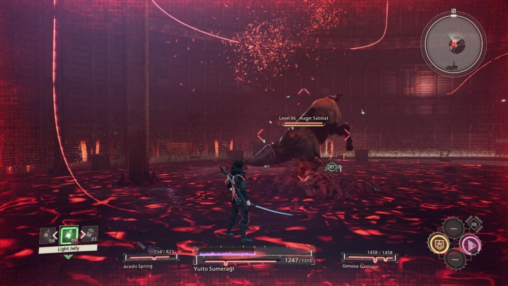 Scarlet Auger Nexus Sabbath