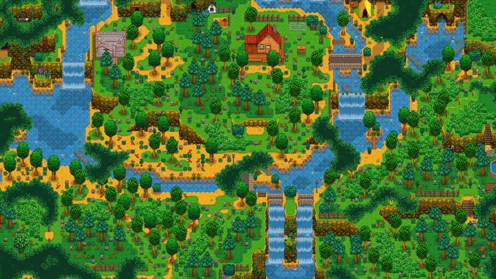 granja forestal cascada