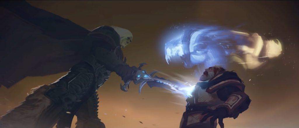 WoW Bastion Uther Soul destrozado