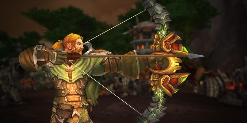 Tirador cazador de WoW Legion