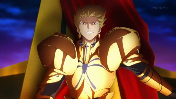 Fate / Zero, Gilgamesh, Mejores villanos del anime