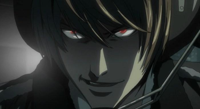Death Note, Light Yagami, Meilleurs méchants d'anime