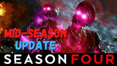 CoD Cold War muestra notas del parche de mitad de temporada: comienza el festival zombie
