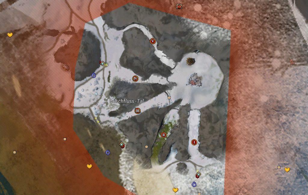Mapa de marionetas de Guild Wars 2