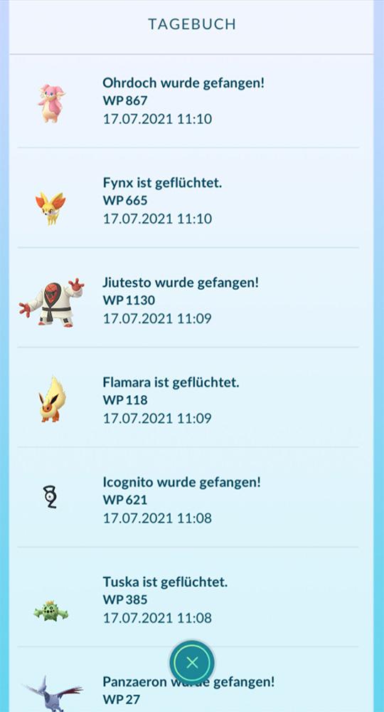 Pokémon GO Plus escapó 2
