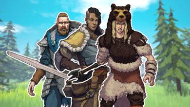 Las 8 clases al comienzo de Tribes of Midgard y lo que pueden