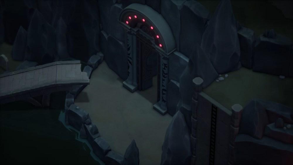 final de la puerta de la muerte