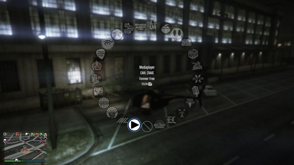 Sintonizador de GTA Online USB Stick Media Player Radio