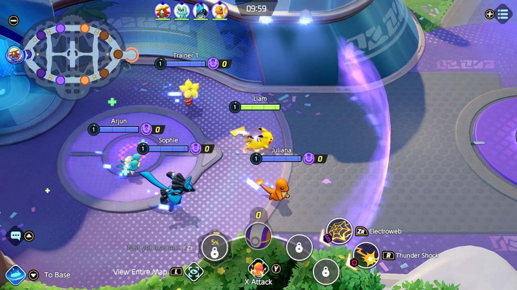Captura de pantalla 5 de Pokémon Unite