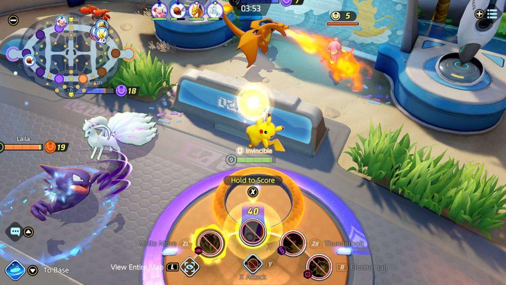 Pokémon Unite Captura de pantalla 3