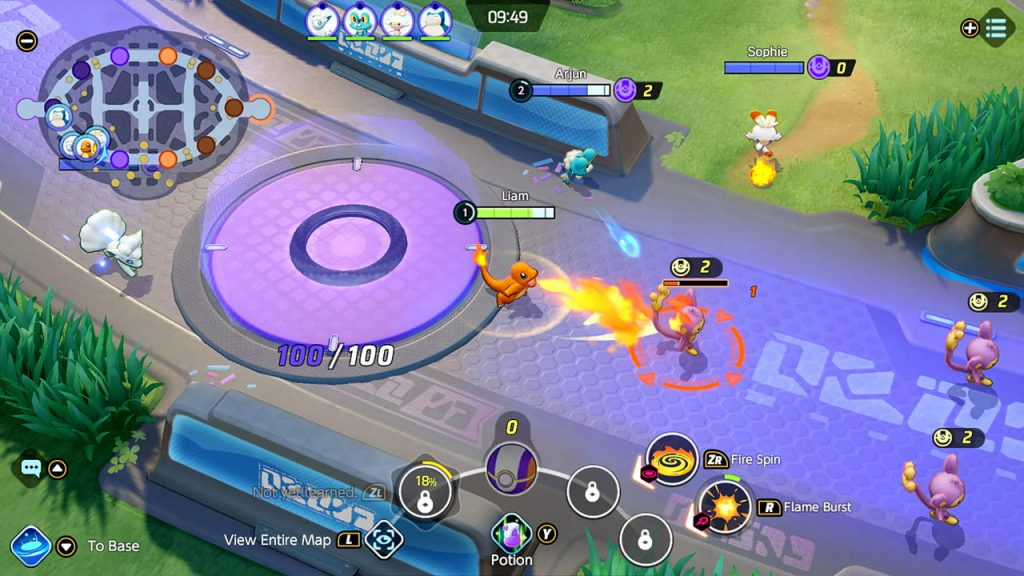 Pokémon Unite Captura de pantalla 4