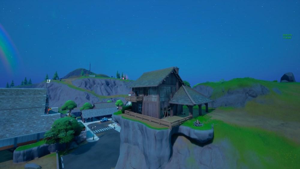 registrar ubicaciones de escarpados acantilados de fortnite