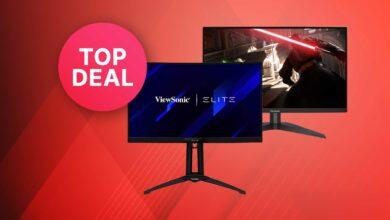 Amazon ofrece: monitores para juegos con 144 Hz y 165 Hz a un precio superior